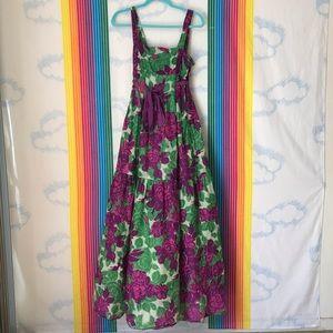 ROBERTA FREYMANN floral summer dress trendy garden